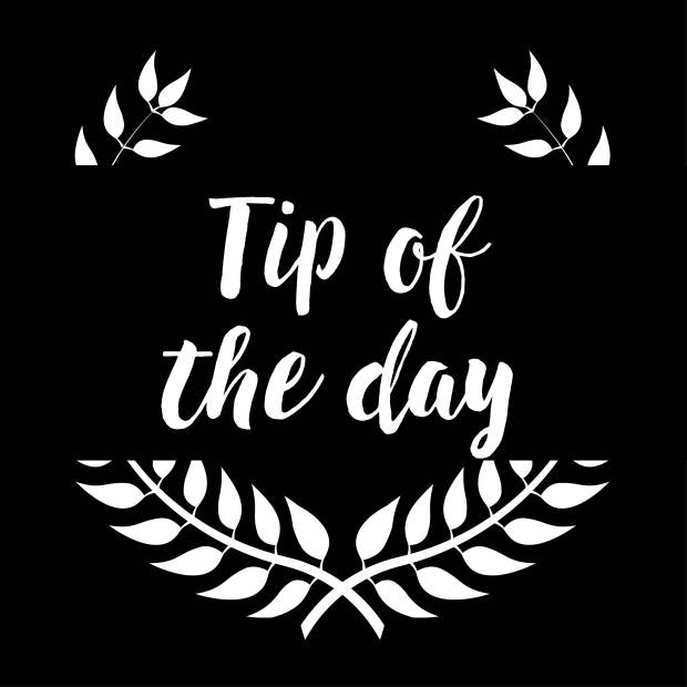 tip of the day2